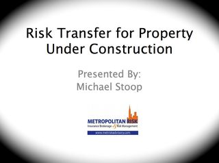 Builder Risk Presentation