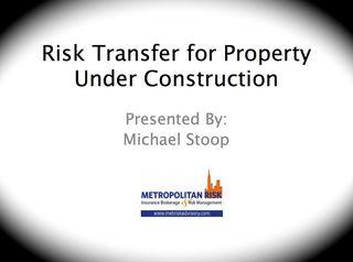 Builder Risk Presentation